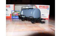 Модель цистерны фирмы PiKO, железнодорожная модель, scale87