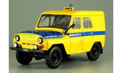 УАЗ-469 МИЛИЦИЯ АВТОМОБИЛЬ НА СЛУЖБЕ №48 1/43