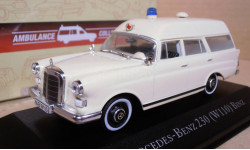 MERCEDES-BENZ 230 (W110) AMBULANCE ATLAS EDITION 1/43 НИЖЕ ЦЕН НЕТ!!!