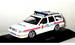 VOLVO 850 POLITI ATLAS EDITION 1/43 POLICE CARS САМАЯ НИЗКАЯ ЦЕНА!!!