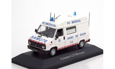 CITROEN C25 HEULIEZ AMBULANCE ATLAS EDITION 1/43 НИЖЕ ЦЕН НЕТ!!!, масштабная модель, 1:43, Citroën