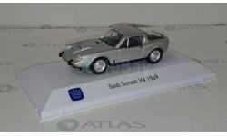 SAAB SONETT V4 ATLAS EDITION 1/43, журнальная серия масштабных моделей, 1:43