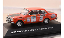VOLVO 142 RAC RALLY VOLVO COLLECTION ATLAS EDITION 1/43