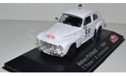 VOLVO PV 544 S RALLY MONTE CARLO ATLAS EDITION 1/43, журнальная серия масштабных моделей, 1:43, Saab