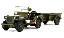 WILLYS MB ATLAS EDITION 1/43