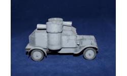 Модель 1/43 Бронеавтомобиль Остин 2-й серии с доп. пунктом управления