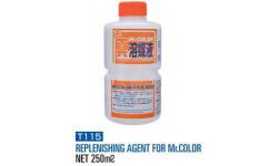 Т 115 восстановитель свойств засохших красок 250мл, фототравление, декали, краски, материалы, разбавитель, MR.COLOR