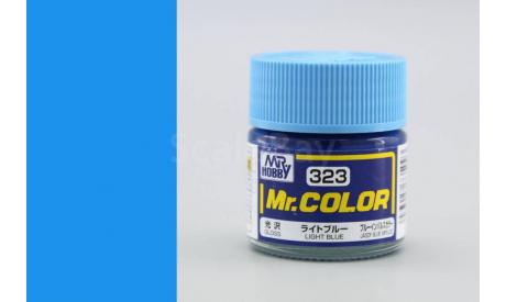 С 323 светло-серый глянцевый краска эмалевая, фототравление, декали, краски, материалы, MR.COLOR, scale0