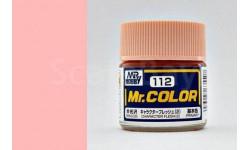 С 112 обычный телесный 2 полуматовый краска эмалевая, фототравление, декали, краски, материалы, MR.COLOR