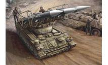 Пусковая установка ЗРК 'КУБ', сборные модели бронетехники, танков, бтт, бронетехника, моделист, 1:35, 1/35