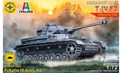 немецкий танк T-4 F2, сборные модели бронетехники, танков, бтт, бронетехника, моделист, 1:72, 1/72