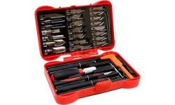набор ножей с цанговым зажимом(алюминий)33 предмета jas, инструменты для моделизма, расходные материалы для моделизма