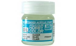 H 30YL  бесцветный прозрачный глянцевый краска акриловая 40мл, фототравление, декали, краски, материалы, MR.HOBBY