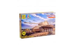 немецкий танк пантера, сборные модели бронетехники, танков, бтт, бронетехника, моделист, 1:72, 1/72