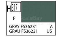 С 317 серый матовый краска эмалевая, фототравление, декали, краски, материалы, MR.COLOR