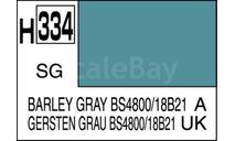 Н 334 ячменно-серый полуматовый краска акриловая, фототравление, декали, краски, материалы, MR.HOBBY