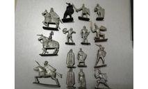 пластмассовые рыцари СССР за 1 шт, фигурка, scale0
