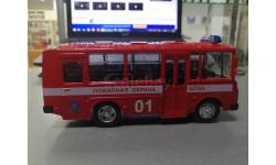 автобус ПАЗ-32053 служба спасения, масштабная модель, autogrand, 1:43, 1/43