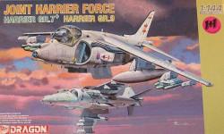 JOINT HARRIER FORCE, сборные модели авиации, самолет, Dragon, 1:144, 1/144