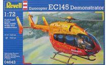 EUROCOPTER EC145 DEMONSTRATOR, сборные модели авиации, ВЕРТОЛЕТ, REVELL, 1:72, 1/72