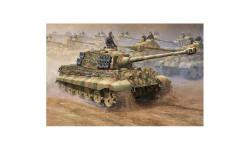 GERMAN SD.KFZ.182 KING TIGER, сборные модели бронетехники, танков, бтт, Trumpeter, 1:16, 1/16