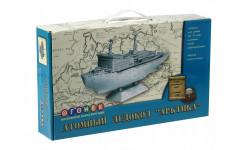 атомный ледокол арктика, сборные модели кораблей, флота, корабль, огонек