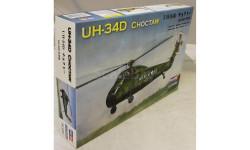 UH-34D CHOCTAW, сборные модели авиации, ВЕРТОЛЕТ, HOBBY BOSS, 1:72, 1/72