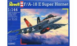 F/A-18 E SUPER HORNET, сборные модели авиации, самолет, REVELL, 1:144, 1/144