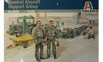COMBAT AIRCRAFT SUPPORT GROUP, миниатюры, фигуры, Italeri, 1:48, 1/48