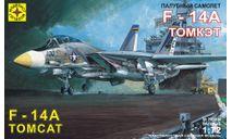 палубный самолет F-14A томкэт, сборные модели авиации, Моделист, 1:72, 1/72