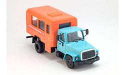 горький-3307 аварийная газовая служба, масштабная модель, Компаньон, 1:43, 1/43