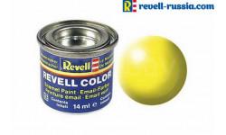 эмаль светящаеся желтая шелковая матовая, фототравление, декали, краски, материалы, REVELL, scale0, краска