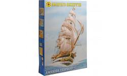 америго веспуччи, сборные модели кораблей, флота, Моделист, scale0, корабль