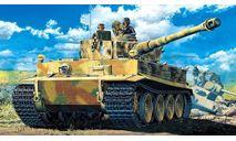 танк Т-6 тигр с экипажем, сборные модели бронетехники, танков, бтт, БРОНЕТЕХНИКА, Моделист, 1:35, 1/35