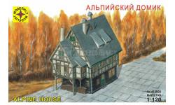 альпийский домик, миниатюры, фигуры, Моделист, 1:120, 1/120