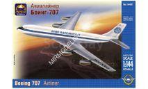 авиалайнер боинг 707, сборные модели авиации, Boeing, ARK, 1:144, 1/144