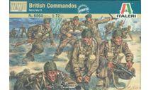 british commandos, миниатюры, фигуры, ITALERI, scale72