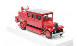 Зис 11 пожарный автомобиль закрытого типа