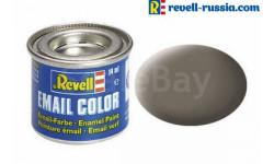 эмаль землисто-коричневая матовая, фототравление, декали, краски, материалы, краска, REVELL