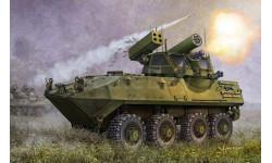 LAV-AD LIGHT ARMORED VEHICLE, сборные модели бронетехники, танков, бтт, Trumpeter, scale35, БРОНЕТЕХНИКА