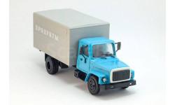 горький-3307 фургон продукты, масштабная модель, ГАЗ, Компаньон, 1:43, 1/43