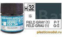 полевой серый 1 глянцевый акриловая, фототравление, декали, краски, материалы, краска, MR.COLOR