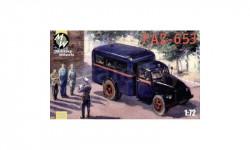 PAZ-653, сборная модель автомобиля, MW, scale72, МАШИНА