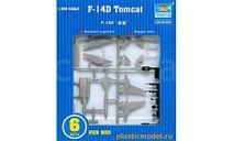 F-14D TOMCAT, сборные модели авиации, САМОЛЕТ, Trumpeter