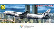 боинг 777-200, сборные модели авиации, Boeing, Моделист