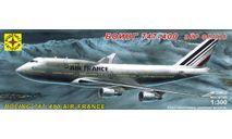 боинг 747-400 эйр франс, сборные модели авиации, Boeing, Моделист