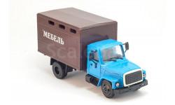горький-3307 фургон мебель, масштабная модель, ГАЗ, Компаньон, 1:43, 1/43