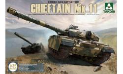 CHIEFTAIN MK.11, сборные модели бронетехники, танков, бтт, TAKOM, 1:35, 1/35