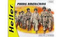 PARAS AMERICAINS, миниатюры, фигуры, HELLER, scale72