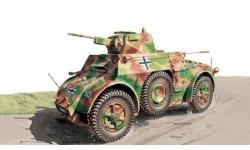 AUTOBLINDA AB 41, сборные модели бронетехники, танков, бтт, Italeri, scale48, БРОНЕТЕХНИКА